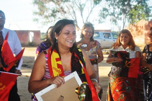 Juliana Helpa, Capacitadora da AECEP e Gestora do Comitê de Missões em Angola, em Janeiro de 2011.