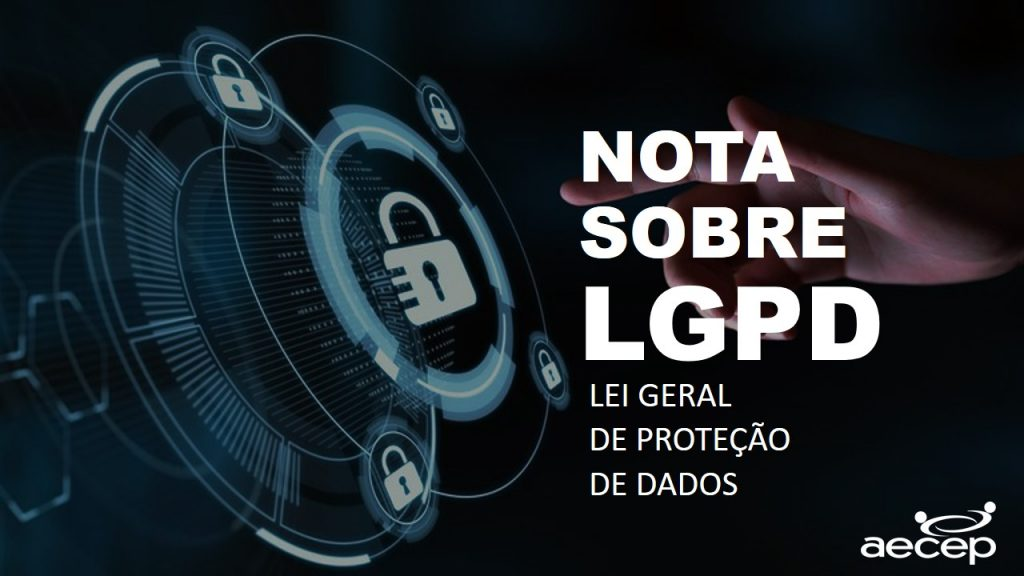NOTA SOBRE LGPD - Aecep